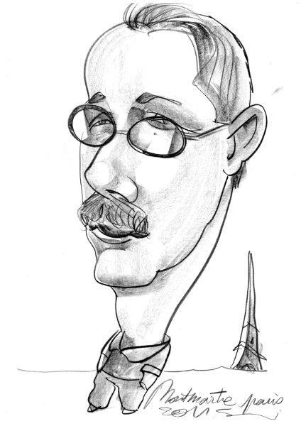 Simon Montmartre Caricature