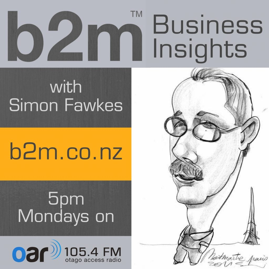 B2M Business Insights on Otago Access Radio