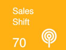 B2M070 Sales Shift